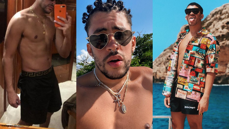 Literally Just a Bunch of Cute (& Thirsty) Bad Bunny Pics