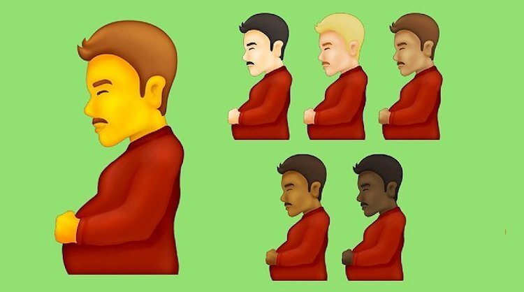 Prepare Yourselves A 'Pregnant Man' Emoji Is Coming