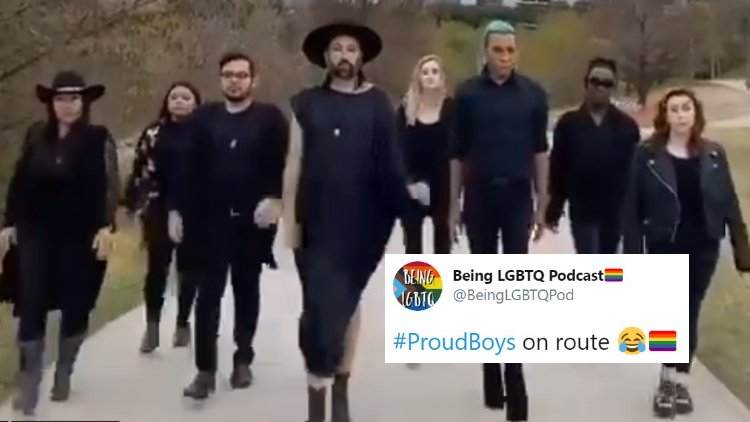 LGBTQ community taking over Proud Boys hashtag with messages of love