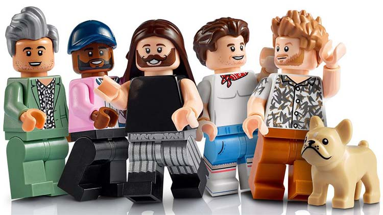 The Fab 5 Gets a Lego Makeover in New Queer Eye Set
