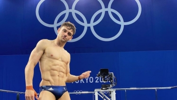 Tom Daley at the Olympics
