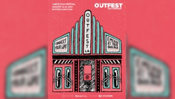 Outfest 2021 poster