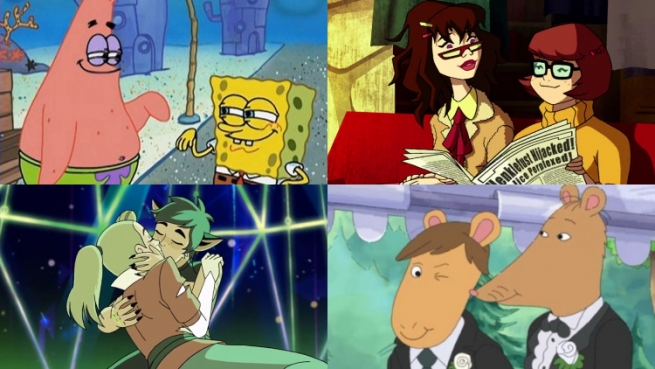 15 Cartoon Shows With Awesome Lgbtq Characters