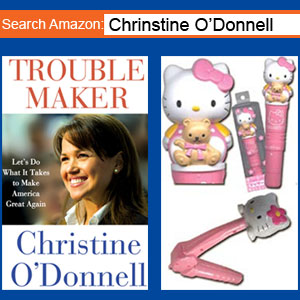 Need a Hello Kitty Vibrator? Visit Christine O'Donnell's Amazon Page