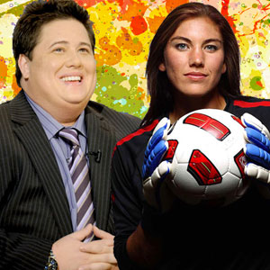 Chaz Bono and Soccer Star Hope Solo Slated for 'Dancing with the Stars'