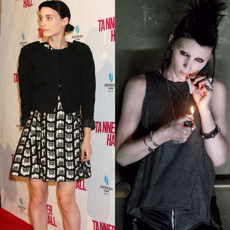 "'Dragon Tattoo's' Rooney Mara's Lisbeth is ""More Vulnerable, More Androgynous"""