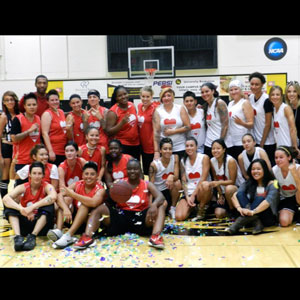 'The Real L Word' Charity Basketball Game -  in Photos