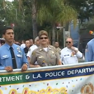Meet West Hollywood's Lesbian Sheriff - Captain Kelley Fraser VIDEO