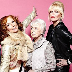 New Ab-Fab Cast Photo, Teasers - 'Absolutley Fabulous' Christmas Specials Coming Soon