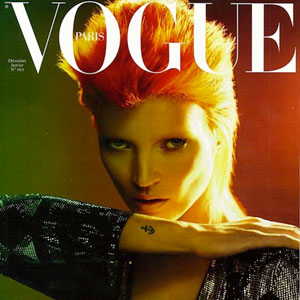 SheWired Shot of the Day: Kate Moss Does Bowie for French Vogue