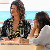 Sandra Bernhard Lesbian Cruises on 'Hot in Cleveland' with Laura San Giacomo - Video