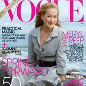 SheWired Shot of the Day: Meryl Streep's First American Vogue Cover!