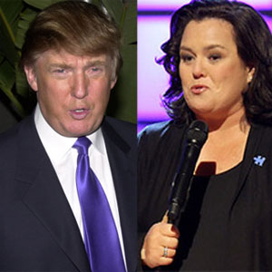 Rosie O'Donnell and Donald Trump Feud 2.0: Trump Says He Feels Sorry for Rosie's Fiancee