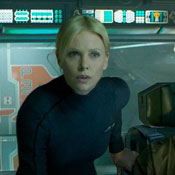 'Prometheus' Pits Charlize Theron Against Noomi Rapace, Teases 'Alien' Origins, Nude Scenes - Video