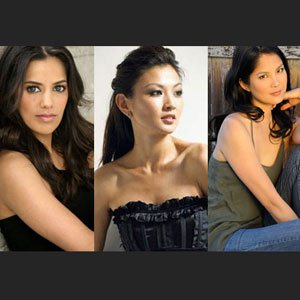 Sheetal Sheth, Michelle Krusiec and Lynn Chen Behind the Scenes at 'Nice Girls Crew'