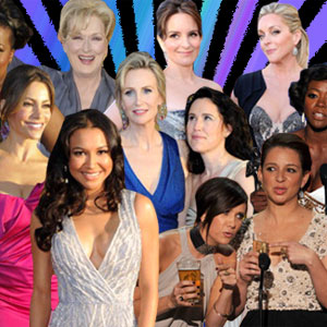 The Women of The SAG Awards Wow: Naya Rivera, Amber Heard, Angelina Jolie and more... Photos