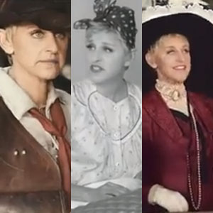 Ellen DeGeneres Steals Oscars' Night with JCPenney Commercials-Video Round-Up