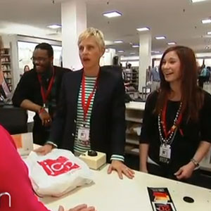 Ellen DeGeneres Returns to Her First Job at JCPenney - Hijinks Ensue! - Video