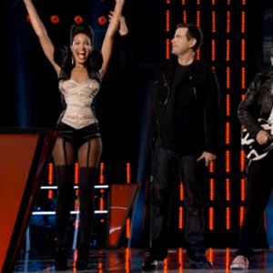 Erin Martin Wins 'The Voice' Battle Round