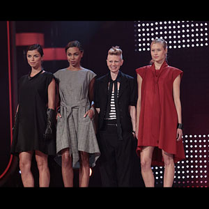 'Fashion Star's' Kara Laricks at Center of Bidding War Over Draped Tie Dress - Video
