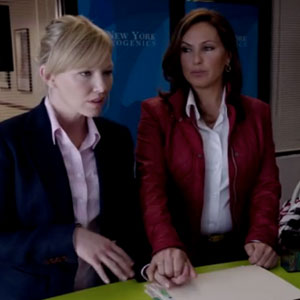 Law and order lesbian scene