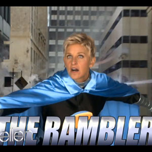 Ellen DeGeneres Stars in 'Marvel's The Avengers' - Watch