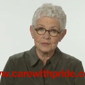 Betty DeGeneres Joins PFLAG's Care with PRIDE Campaign - Video