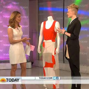 Fashion Star Winner Kara Laricks on The Today Show - Video