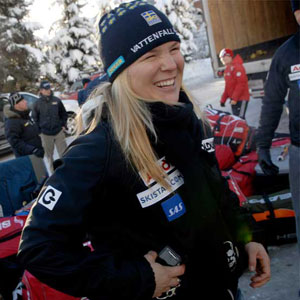 Swedish Skier Anja Paerson Comes Out