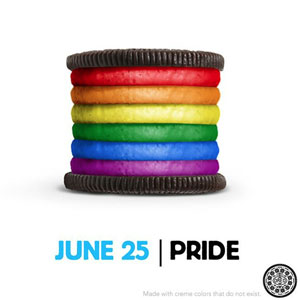 Oreo Pride Cookie Image Goes Viral