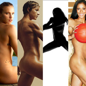 Shot of the Day: Candace Parker and Abby Wambach in ESPN: The Body Issue