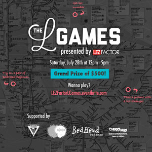 The First Annual L Games in New York City