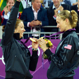 Kerri Walsh Jennings and Misty May-Treanor Win Third Consecutive Olympic Gold