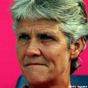 Out US Women's Soccer Coach Pia Sundhage One Win Away From Second Gold Medal