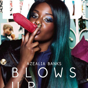 Azealia Banks' 'Dazed and Confused' Condom Cover Banned in Seven Countries