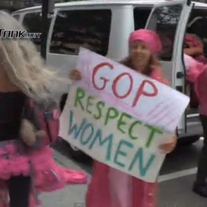 Watch: Vaginas Invade the Republican National Convention