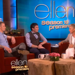 Watch: Ellen Gives $25K Each to Bullied Gay Student and Auto Body Shop Owner