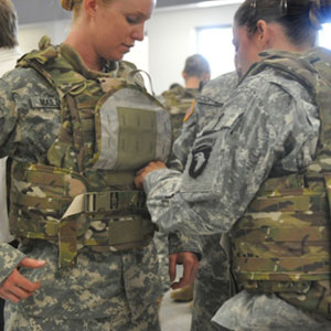 Army Tests Body Armor Designed for Women
