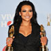 Naya Rivera Wins Double Alma Awards for Playing Santana