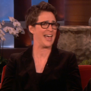 Watch: Rachel Maddow Confesses Her Guilty Pleasure