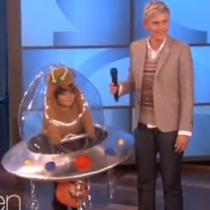 Ellen's Halloween Costumes Aren't Just for Kids