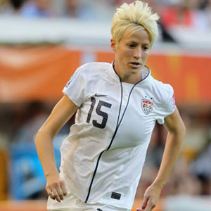 Exclusive: US Midfielder Megan Rapinoe Shines On and Off the Field