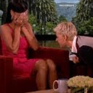 Watch: Ellen Talks To Rihanna's Lady Bits