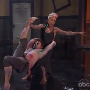 Watch: P!nk Steals the Show at the AMAs