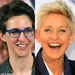 Battle of the Lesbians for Grammy's Best Spoken Word Album: Maddow v. DeGeneres v. Ian