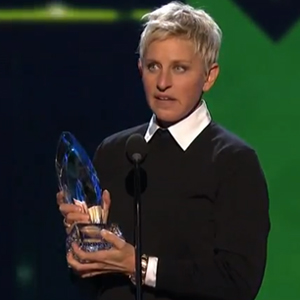Watch: Ellen DeGeneres Is People's Choice for Best Daytime TV Host