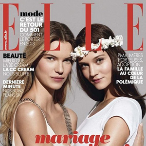 Shot of the Day: French 'Elle' Cover Demands 'Marriage for All!'