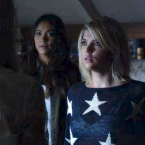 'Pretty Little Liars' Ep. 3.3 Recap - No 'Girl-on-Girl' Talk Necessary for Hanna and Emily
