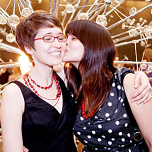 Shot of the Day: Lesbians Among LGBT Couples to Wed in Bloomington, Ind.
