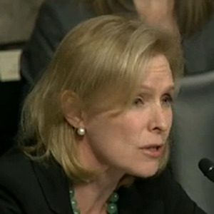 Watch: Sen. Kirsten Gillibrand Grills Hagel on Violence Against Women, Same-Sex Spousal Benefits in Military
